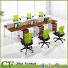 6つのシートのハイエンドDsktopスクリーンのオフィスワークステーション家具CF-P89902