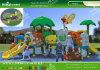 裏庭、公園および幼稚園(KQ60156A)のためのKaiqiの子供の好みの公平な物語のプラスチック演劇
