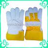Промышленная безопасность работы руки перчатки в кожа коровы (GS-801D)