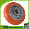 Tread redondo Standard Polyurethane en Cast Iron Caster Wheel