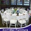 최신 판매 금속 지대 (XYM-ZJ10)를 위한 백색 Chiavari 의자