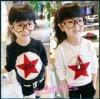 Kinder verdickten Pentagram-T-Shirt