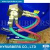 Tubo flessibile poco costoso del gemello dell'acetilene dell'ossigeno della treccia della fibra di Enpaker