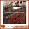 Quartz nero Stone Vanity Top per Bathroom