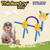 Juguete modular animal divertido de la educación para los bloques magnéticos del juguete de los cabritos