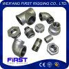 Gomito galvanizzato standard della ghisa malleabile di DIN/JIS/GB che riduce montaggio 90r