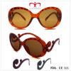 Óculos de sol das senhoras com o templo Shaped especial (WSP508244)