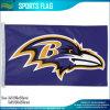 Le polyester Baltimore drapeau de x5 Ravens de NFL logo officiel 3 d'équipe de football '