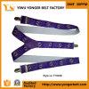 美しい高品質の紫色メンズによって個人化されるサスペンダー