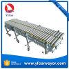 Транспортер ролика PVC двойника силы тяжести гибкий Extendable