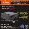 4mm de espesor hojas/24000H Uso intensivo industrial Electric Semiautomática Máquina Perforadora de papel