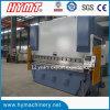 Machine à cintrer du carbone WC67Y-200X4000 de plaque hydraulique d'acier