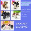 귀여운 3D Imitation Enamel Pet Dog Charm Pendant Wholesale