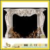돌 Carving/Carved Marble Stone Fireplace 또는 Marble Fireplace