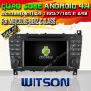Benz C Class W203 (W2-A6517)를 위한 Witson Android 4.4 System Car DVD