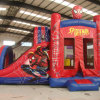 Spider-Man Bouny castillo inflable con tobogán