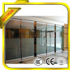 高品質Clear 8mm 10mm Tempered Glass Partition Wall
