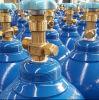 Bottiglie ad ossigeno e gas ad alta pressione di alluminio per industria