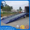 Rampes de charge portatifs de rampe mobile de yard de conteneur de structure de poutre en double T