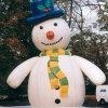 Bonhomme de neige pour la décoration de Noël gonflable