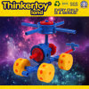 Bela Fada Modelo Cadeira Building Block Educação brinquedo para crianças