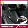 Almohadilla redonda del coche de la almohadilla del resto de la almohadilla del cuello de la fibra del carbón