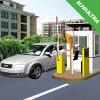 Cartão duplo do estacionamento do controle de acesso do E-Pagamento da leitura interurbana RFID