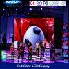 Visualización de LED de interior de P4 1/8s RGB para los acontecimientos deportivos