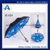 ترويجيّ منتوج [ك] شكل مقبض عكس سيارات يدويّة عكسيّة مستقيمة مظلة