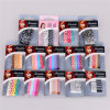 Girl Fashion Colorful Painted 6.5cm Metal Hair Bob Pins (JE1006)