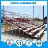 Silla de aluminio al aire libre del asiento de la gradería cubierta del blanqueador del estadio de 10 blanqueadores de las filas