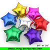 De hete Ballons van de Folie van de Ster van de Kleur van de Decoratie Pary van de Verkoop Kleurrijke Zuivere Duidelijke