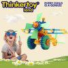 Educational en plastique DIY 3D Puzzle Toys