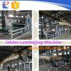 Máquina que lamina popular de la cinta adhesiva de la alta calidad