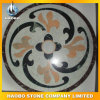 White Marble Natural Stone Mosaic Floor Tile 실내 Outdoor