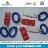 Sifflement en plastique de la corde W/Flat d'enroulement de poignet de ressort pour la promotion
