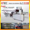 Máquina de envoltura del flujo de la cuchara del plástico / máquina de empaquetado