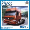 Camion de moteur de tête de bas de page de camion de tracteur de Sinotruk HOWO 4X2 290HP