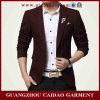 Глубоко - красное Formal тонкое Suit Customized (GZCD-004)