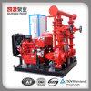 Het Systeem van de Pomp van de brand met Pomp van de Brand van de Jockey van de Pomp van de Dieselmotor de Elektrisch en Controlebord