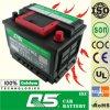 DIN55 MF, accumulatore per di automobile europeo di modello accumulatore per di automobile della famiglia delle batterie dell'OEM 12V 55ah Rocket della Cina