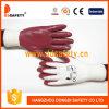 En Nylon blanc gant de travail en nitrile Claret Dnn339