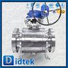 Didtek 900lb A105 ha forgiato la valvola a sfera del perno di articolazione della guarnizione del metallo