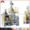 Machine industrielle de grenaillage à écrouissage de plaque tournante automatique de qualité, modèle : Mrt4-80L2-4
