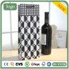 黒く白い円のワイン袋、ギフトの紙袋、ワイン袋