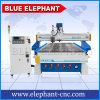 Machines de découpage automatiques de couteau de cuir de bande de tissu d'éléphant de fonctionnement du bois bleu de la commande numérique par ordinateur 1337 à vendre