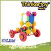 Automobile di plastica del giocattolo di puzzle per le particelle elementari dei bambini
