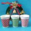 Duftende Sojabohnenöl-Wachs-Glas-Kerze für Ansammlung
