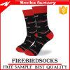 Form-Entwurfs-Mann-/Frauen-gekämmte Baumwollunisexsocken, kundenspezifische Socken