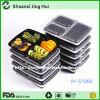 BPA liberano 3 contenitori del pranzo dello scompartimento, contenitori della preparazione del pasto di controllo della parte